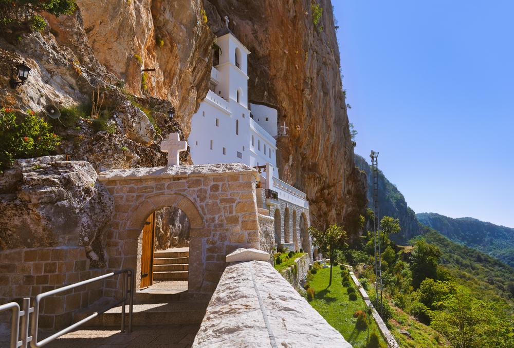 Ostrog Monastery, Čierna hora. Foto: Shutterstock