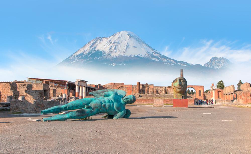 Pompeje Taliansko. Foto: Shutterstock