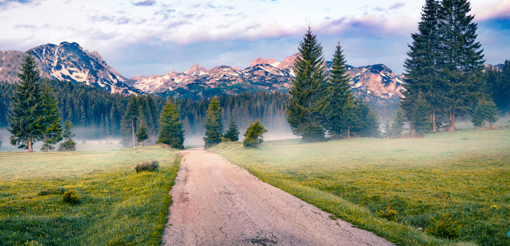 Hory Čierna hora. Foto: Shutterstock