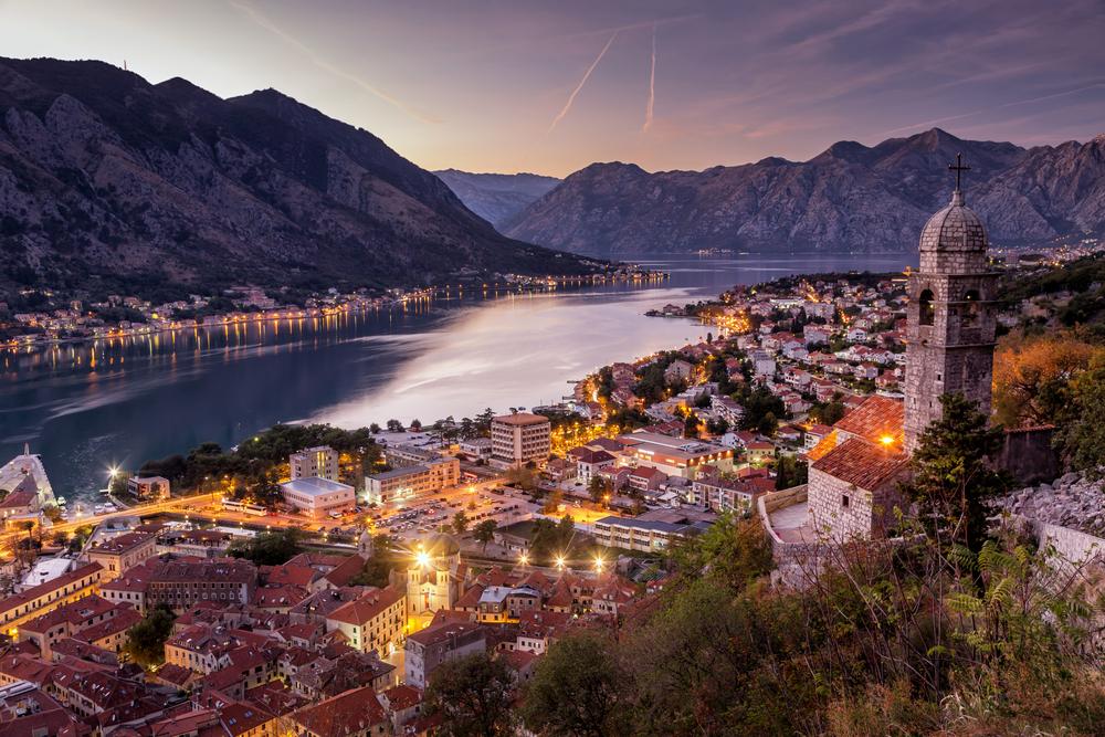 Kotor, Čierna hora. Foto: Shutterstock
