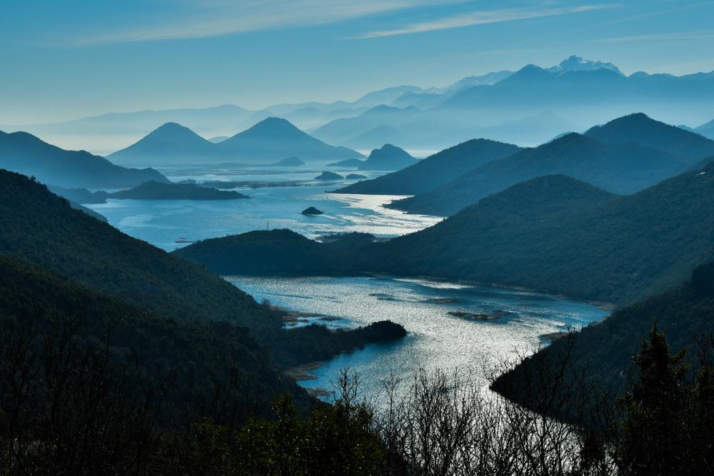 Jazero SKadar, Čierna hora. Foto: Shutterstock