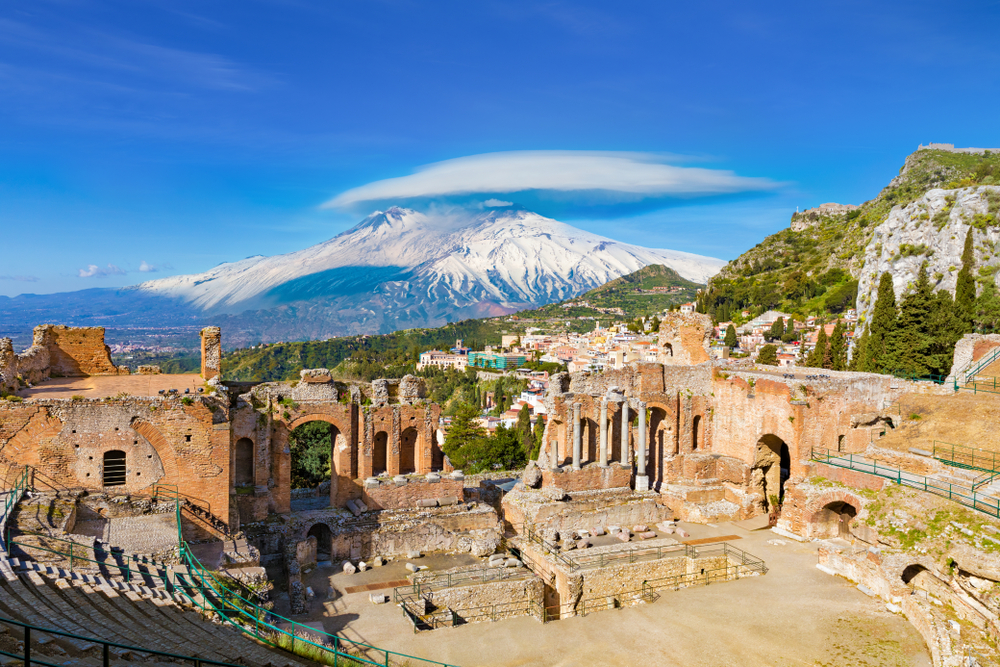 Taormina Taliansko. Foto: Shutterstock