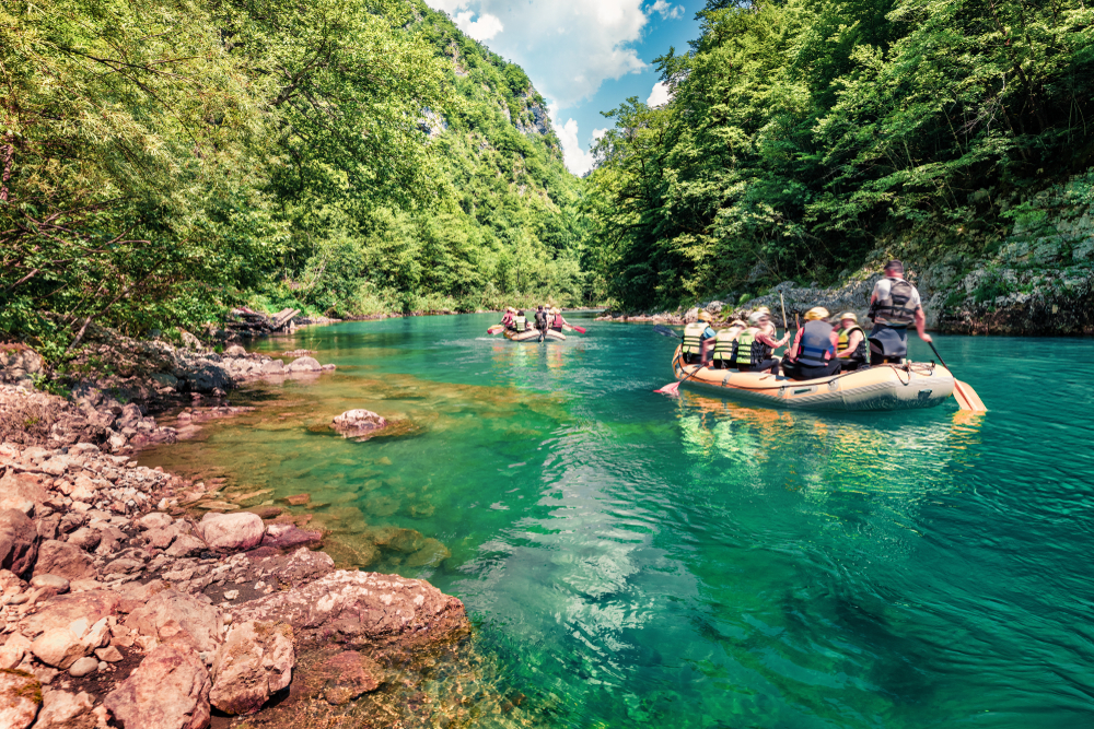 Rieka Tara, Čierna hora. Foto: Shutterstock