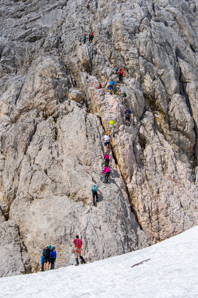 Ferrata Dachstein. Foto: Shutterstock