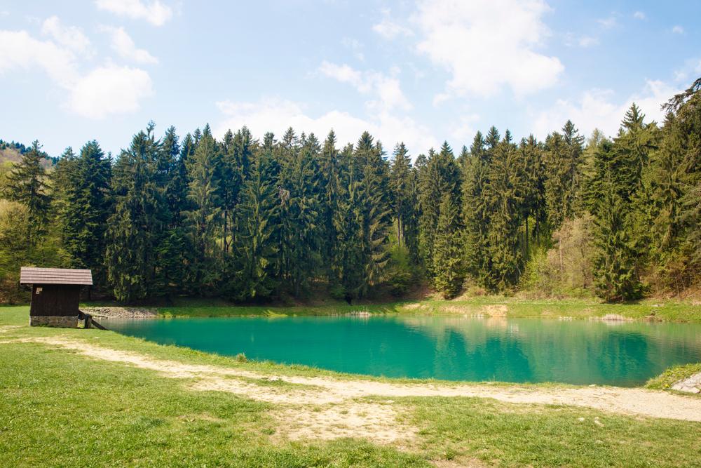 Tajch Vodárenská, Banská Štiavnica. Foto: Shutterstock