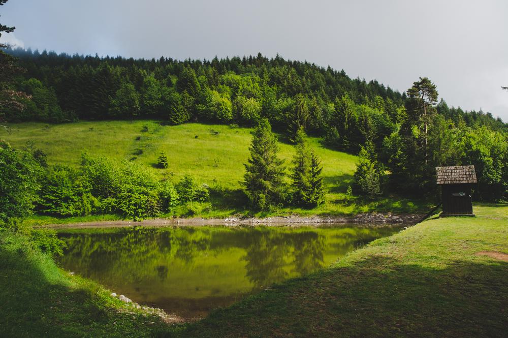 Tajch Banská Štiavnica. Foto: Shutterstock