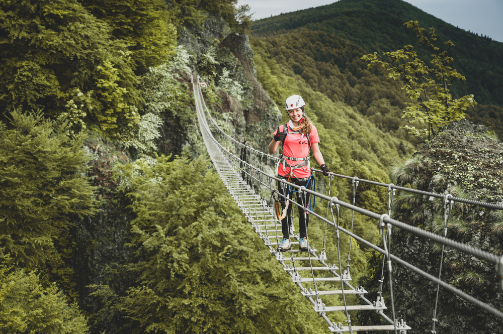 Ferrata Skalka Kremnica. Foto: Shutterstock